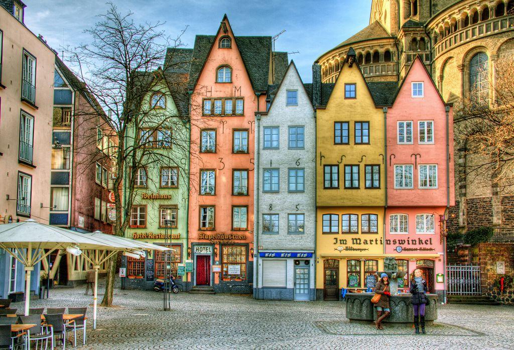 Altstadt am Rhein Köln