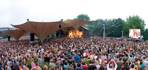open Air Konzert am Tanzbrunnen